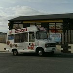 Fish van that visits the site on Tuesday, Thursday and Saturday at 615pm