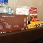in room snacks