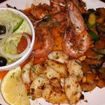 Prawn & Calamari Combo with Vegetables