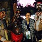 Meeting the original Australians was an added bonus.