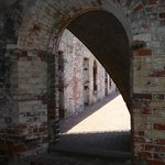 Lots of cool archways and brick rooms