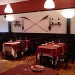 comedor de restaurante Novos Aires