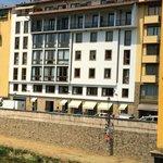 The Hotel from the Ponte Vecchio Bridge view
