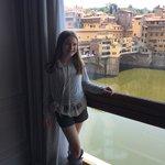 The View of the Ponte Vecchio