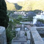 Steps coming back to the hotel from Benahavis town