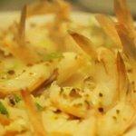 Kon chin prawns. Stir fried King Prawn with garlic in Kon-chin sauce(sweet and a little bit spic