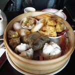 Chef's Choice Dim Sum Plate - expensive with pedestrian choices