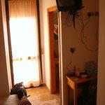 beengtes Zimmer
