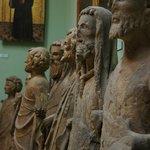 Exhibición en el museo interior de la catedral