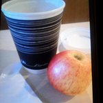 soft apple and cup of tea