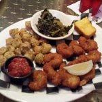 Popcorn Shrimp Platter