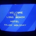 Nice wee welcome :)