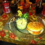 Petit Burger au saumon