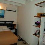 Habitación simple pero limpia