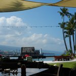 View from our table at Honu's Restaurant
