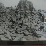 Prambanan crumbled ruins