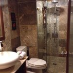 One of the bathrooms in the Family Room