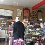 Breakfast at Maison de Provence, surperb service and varied clientele