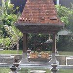 Area for Balinese Prayer