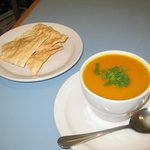 Carrot Ginger Soup - Soup of the day
