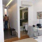 quarto, banho e cozinha