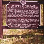 Sign- St. Mary of the Oaks