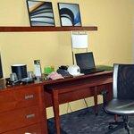 Desk and Dresser