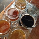 Best menu item- beer flight!