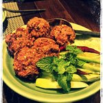this is the meat ball, a must try, too sour...