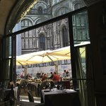 In the shadow of the Duomo