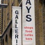 Hay's Galleria sign