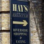 Hay's Galleria - sign