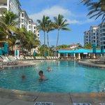 Pool near Dolphin Building