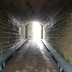 Passageway to inside of fort