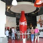 Wow a giant Coke bottle!
