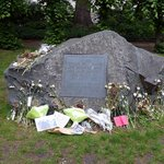 Stone memorial to conscientious objectors
