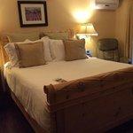 The cozy room called Arezzo.