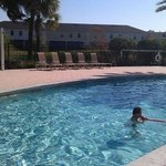 Lovely heated pool