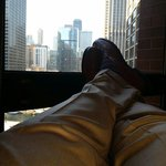 What better way to relax and enjoy the Magnificent Mile in Chicago.....