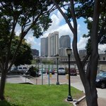 see the Marriot from river front