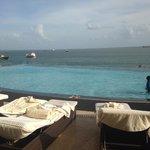 Hyatt's rooftop pool