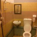 Toilet + bathroom.. :)