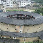 Hakka Tulou - view from the hotel
