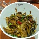 Nouilles au porc et légumes