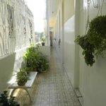 Le long couloir de la casa