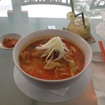 Yum yum laksa and lemon grass mojito!
