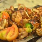 Yummy Food @ Cafe Mamita (Boac Hotel) -Sizzling Pusit