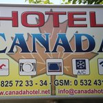 Canada Hotel - Sign