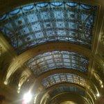 arcade glass  ceiling