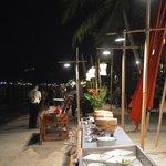 Hotel Beach By Night